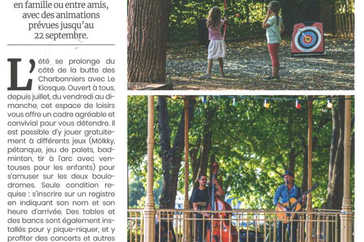 article Le Kiosque - Butte des Charbonniers